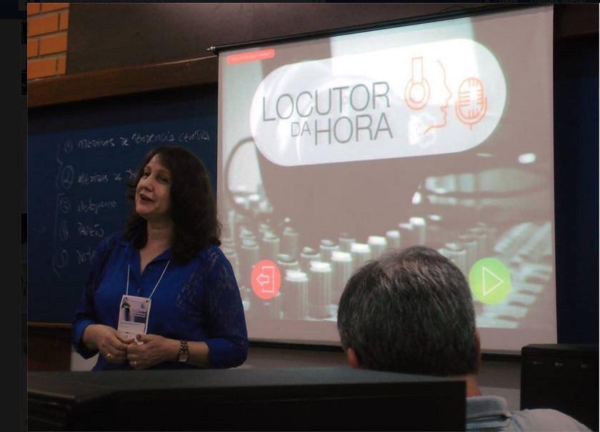 Professores de Rádio do Brasil conhecem o Locutor da Hora